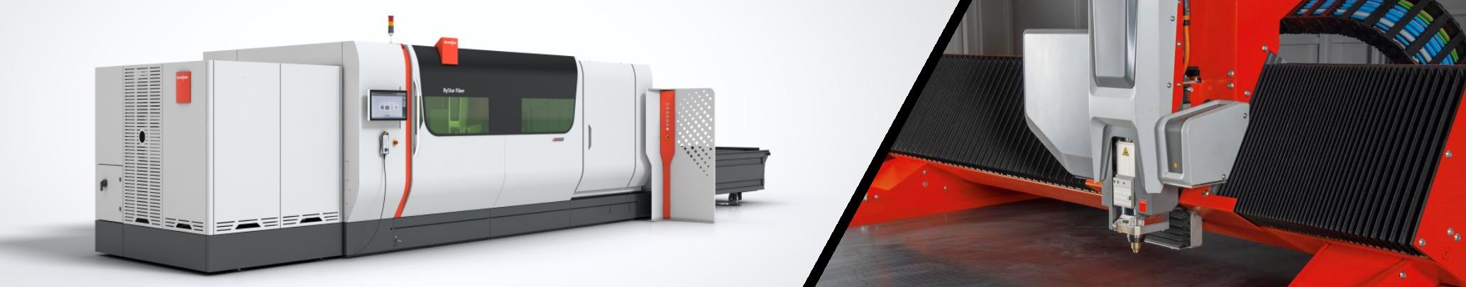 Machine de découpe laser Bystronic Bystar 3015