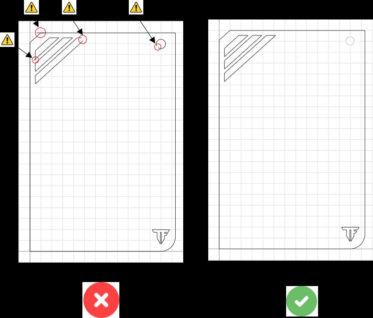 fichier CAO contours fermés